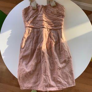 JCrew blush dress sz 2
